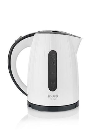 Schafer Beyaz Fluent 2200w Elektrikli Su Isıtıcı Kettle