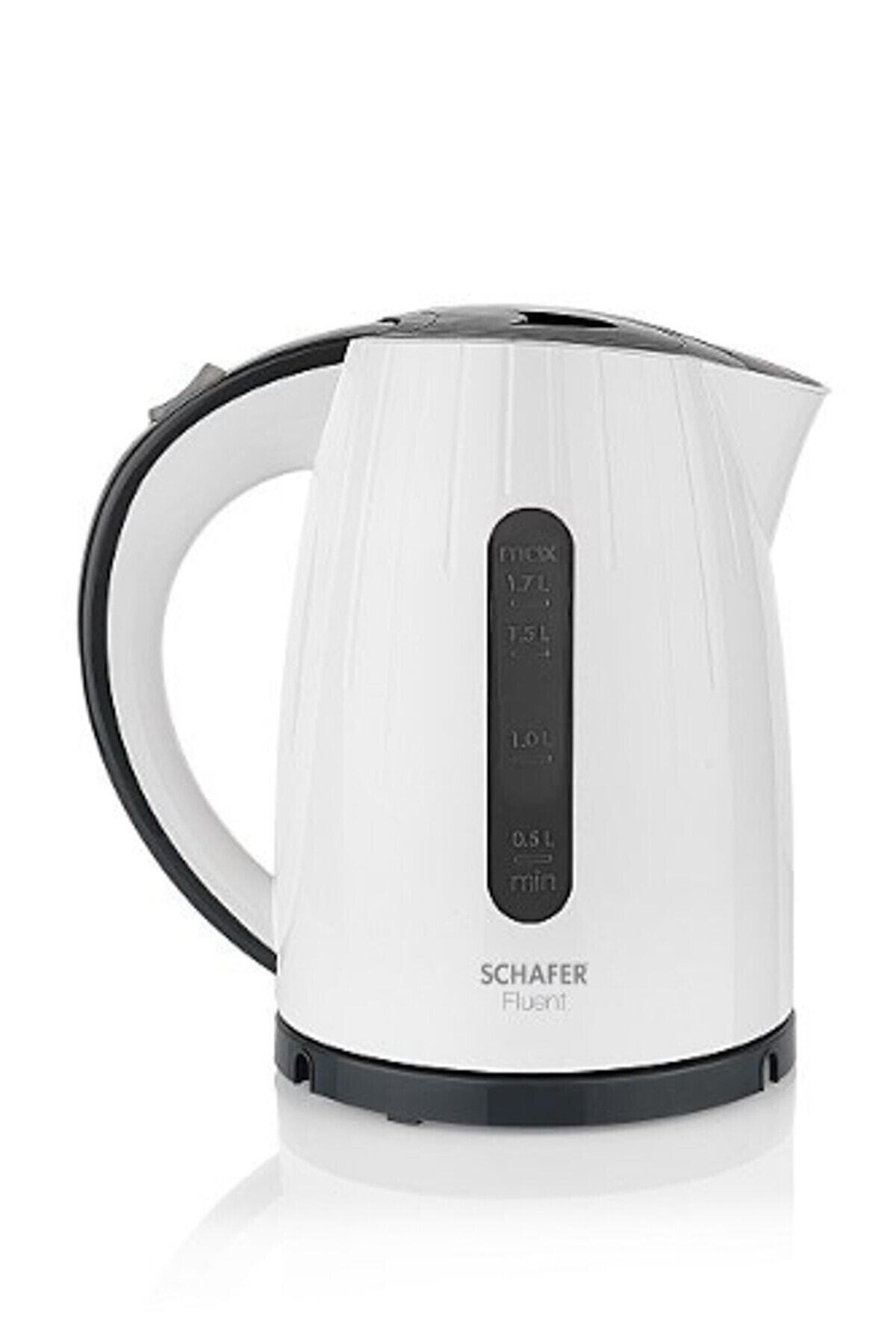 Schafer Beyaz Fluent 2200w Elektrikli Su Isıtıcı Kettle 1