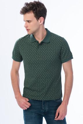 Lee Cooper Erkek Nature Polo Yaka Baskılı Pike T-Shirt 182 LCM 242119