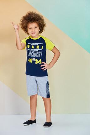 Fenerbahçe Lisanslı Erkek Çocuk Bermuda Takım Lacivert