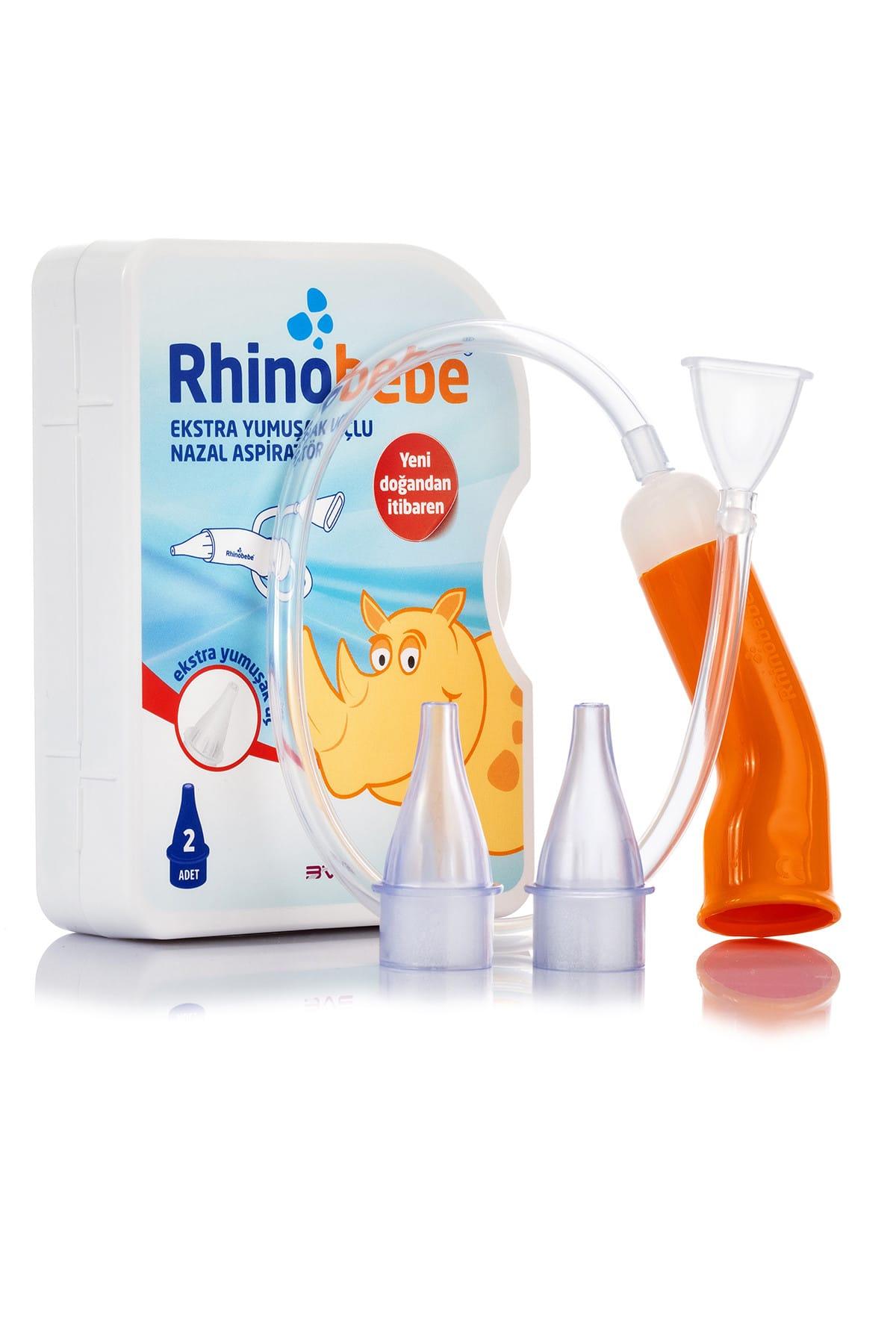 Rhinobebe Bebek Burun Aspiratörü + Yedek Uç 2