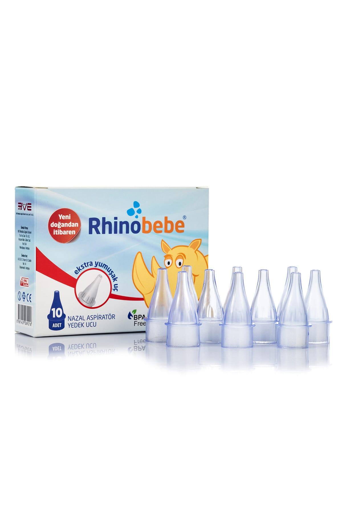 Rhinobebe Bebek Burun Aspiratörü Yedek Uç 3 Paket 2