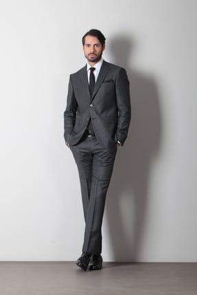 Ramsey Mikro Dokuma Takım Elbise