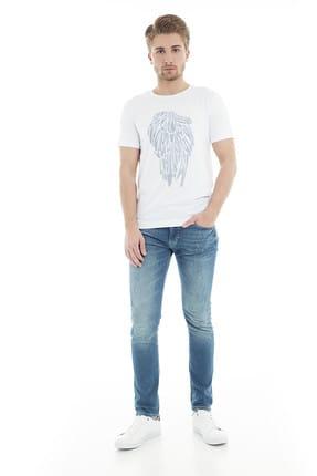 Lufian Erkek Mavi Jeans - 111200009