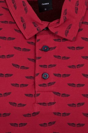 Tween Kırmızı T-Shırt - 8TC143100193-601