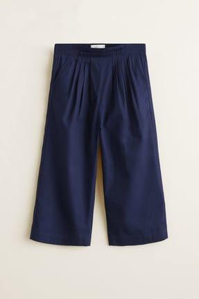 MANGO Kids Lacivert Kız Çocuk Pantolon 43055761