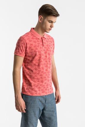 Ltb Erkek  Pembe Polo Yaka T-Shirt 012198430760890000