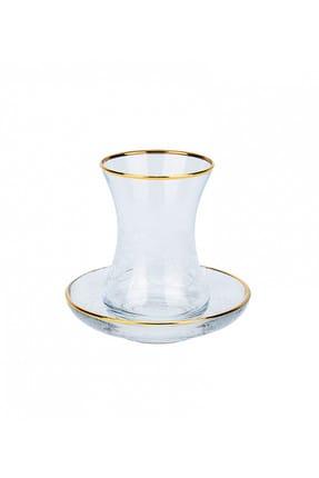 Karaca Seremoni Gold 6 Kişilik Çay Seti