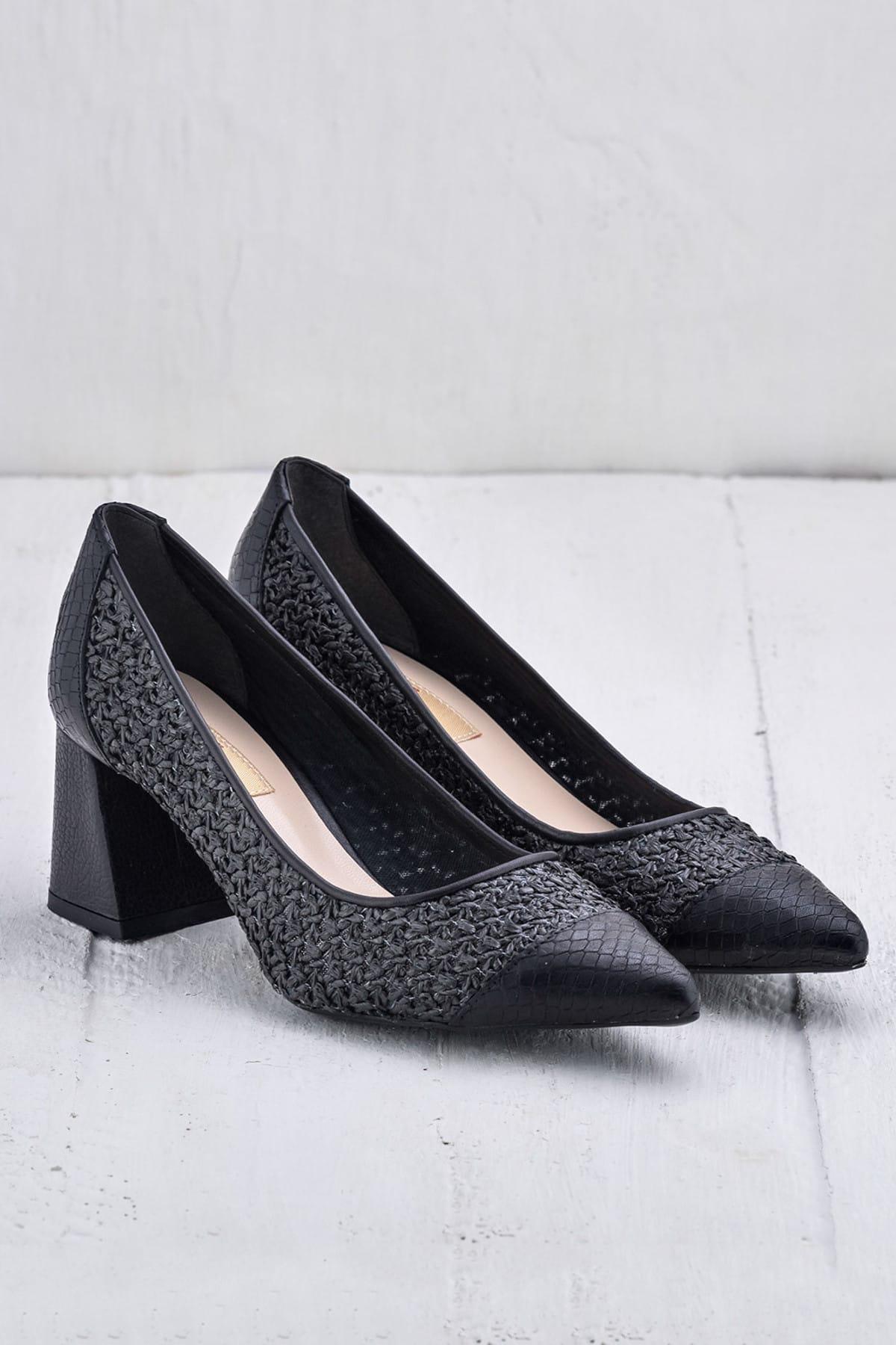 Elle Shoes MARGERY Siyah KadınAyakkabı 2