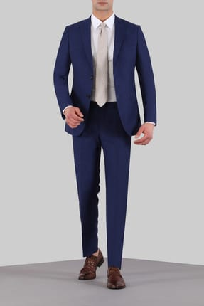 Ramsey Dynamic Fit Pilesiz Mono Yaka Takım Elbise - RP10074856