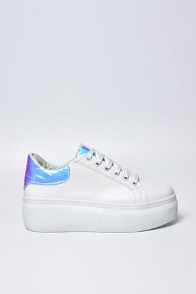 Jeep Beyaz Hologram Kadın Spor Ayakkabı 9Y2SAJ0005