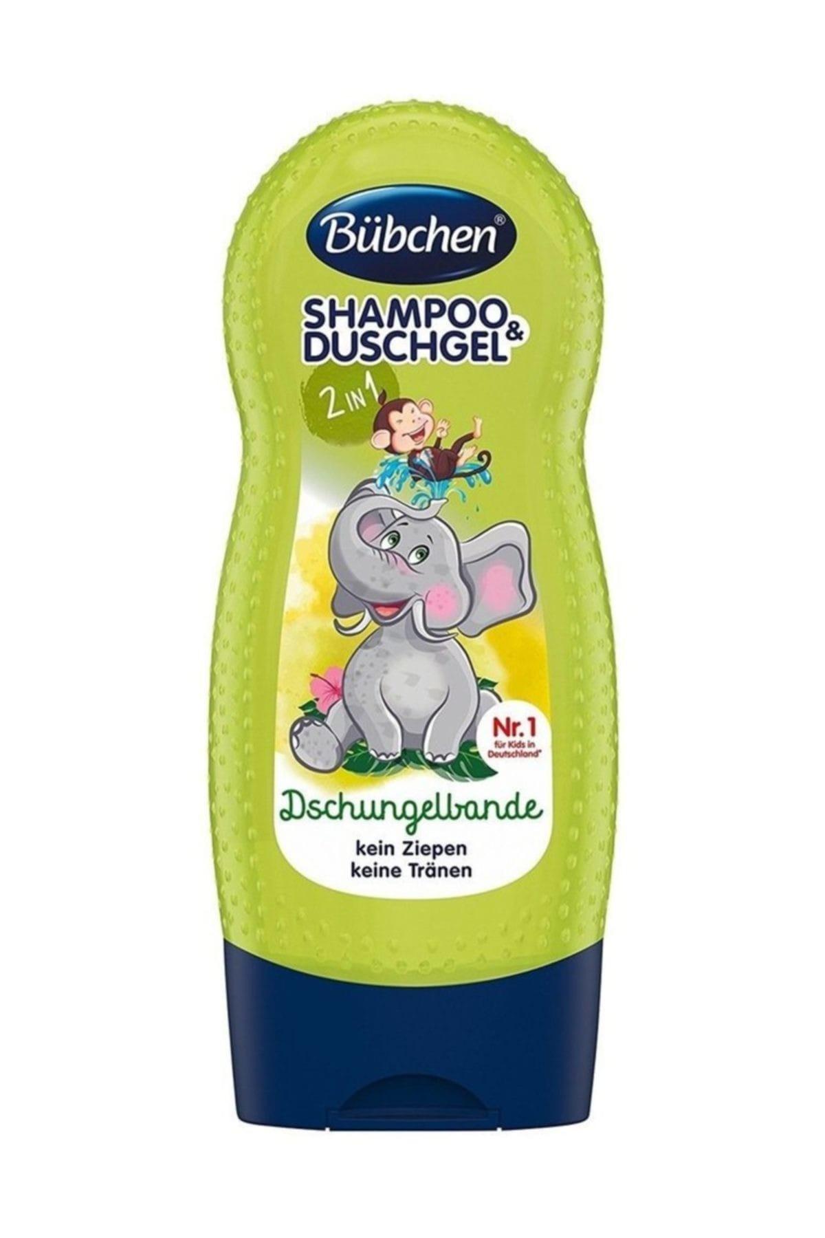 Bübchen Şampuan Ve Duş Jeli Jungle Fever (Tropik Orman) 230 ml 1