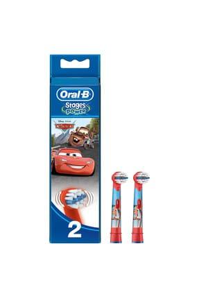 Oral-B Stages Çocuklar İçin Diş Fırçası Yedek Başlığı Cars 2