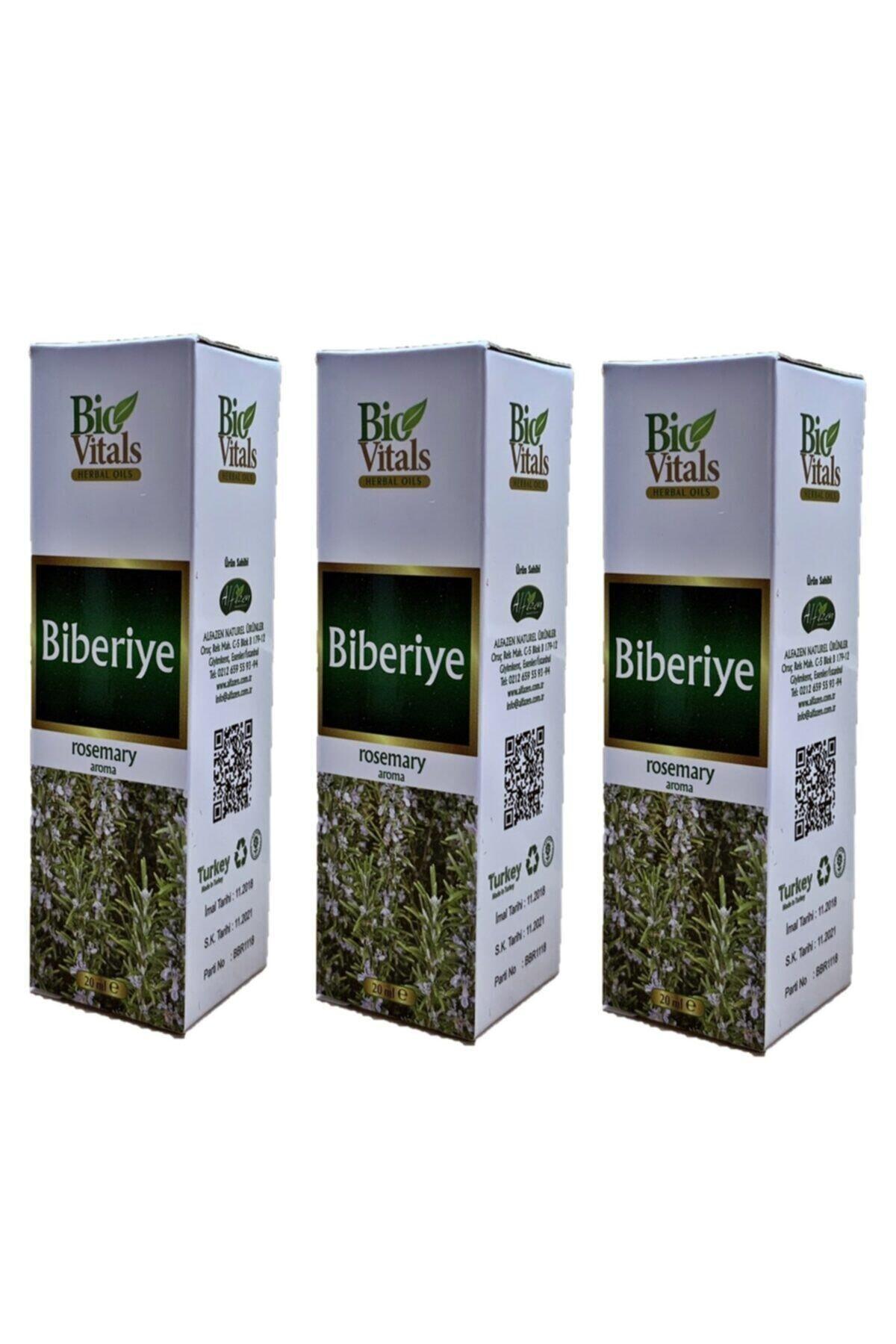 Bio Vitals Biberiye Yağı Yağı 20 ml 3 Adet 1