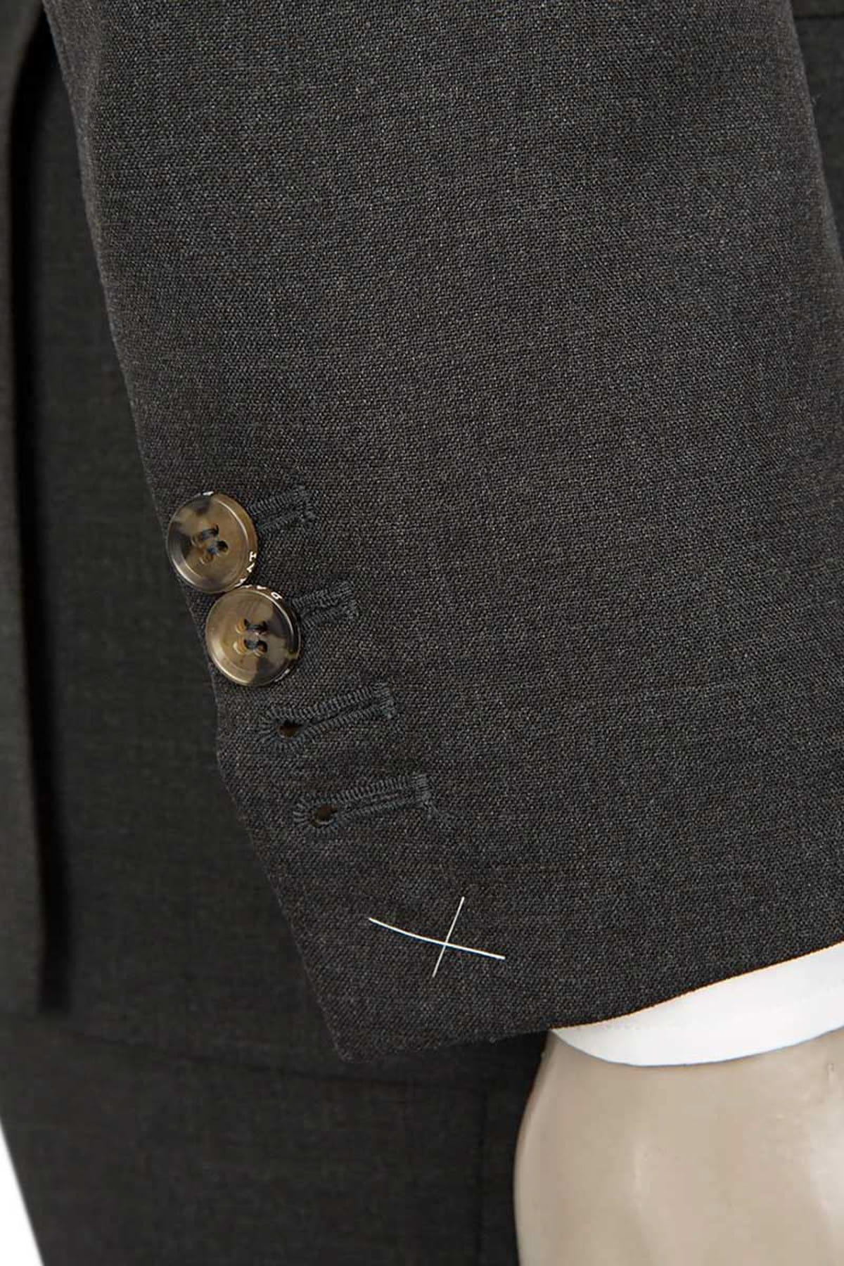 Damat Erkek  Antrasit Takım Elbise 2DF05LP00562_A01 2
