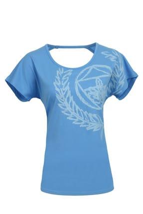 Fenerbahçe KADIN TRIBUN SIRT DEKOLTELI T-Shirt