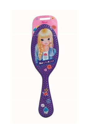 Top Model Saç Fırçası 63 Mor Nur