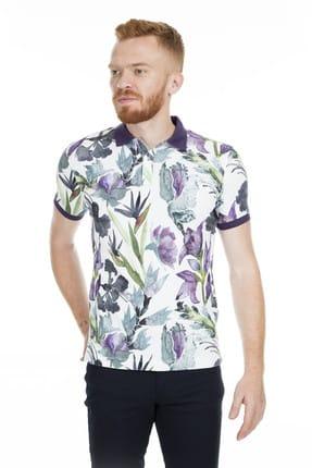 Lufian Erkek Sentinus Vintage Polo T- Shirt Yeşil 111040031100600