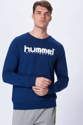 HUMMEL Erkek Sweatshirt Hmloran  Sweat Shirt