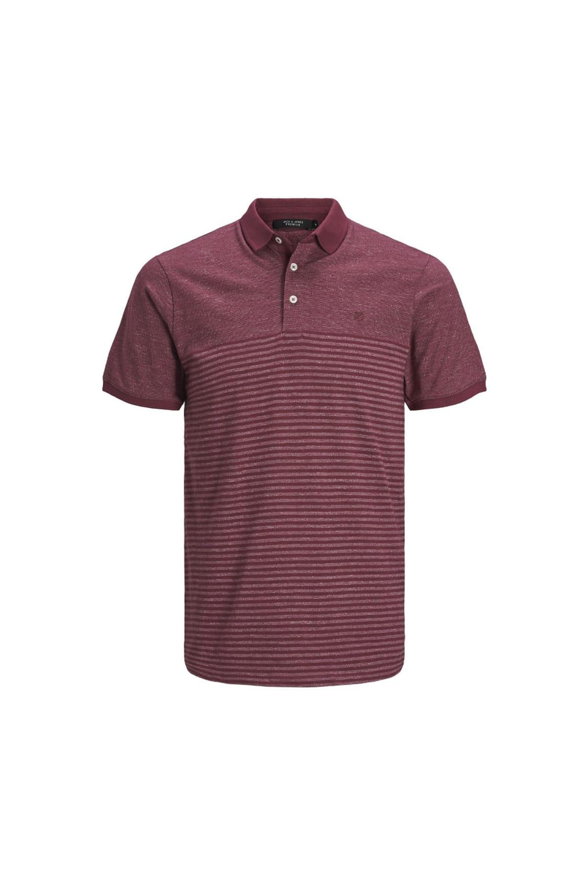 Jack & Jones Erkek Premium Polo Tişört Clein 12149861-COR 1
