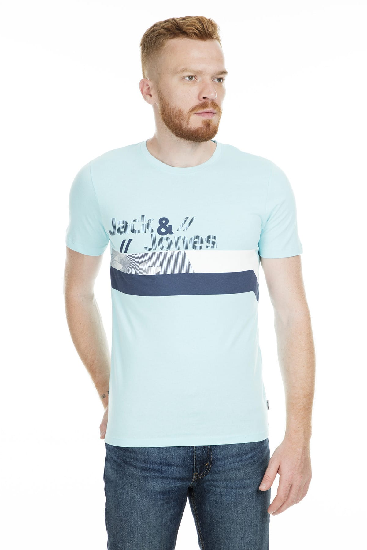 Jack & Jones T-Shirt - Stairs Core Tee Ss 12152308 1
