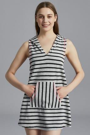 Penti Çizgili Striped Towel Elbise