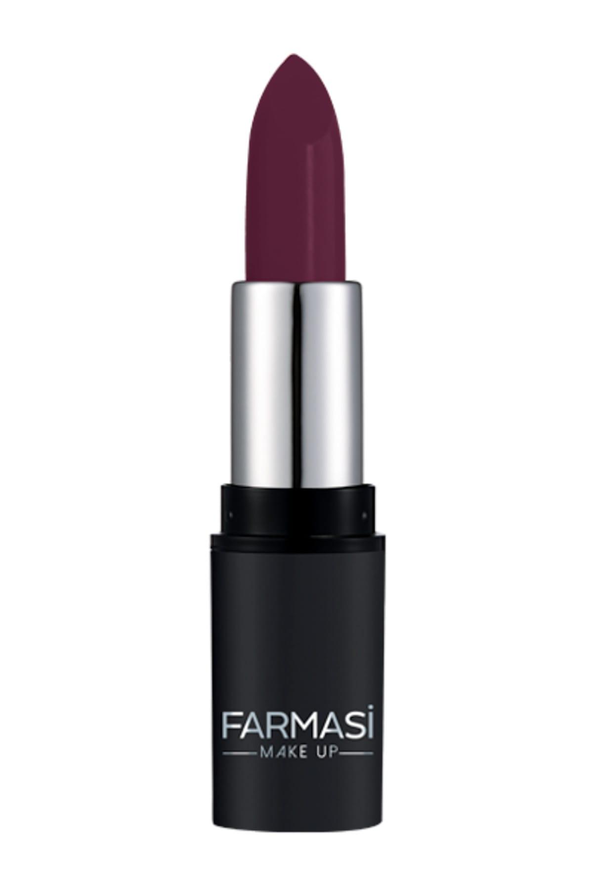 Farmasi Mat Ruj - Matte Lipstick Metallic Berry No: 21 4 g 8690131768096 1