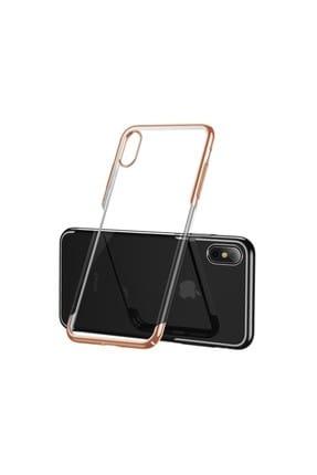 Baseus Glitter Serisi Apple iPhone XS Max 6.5 TPU Kılıf Gold