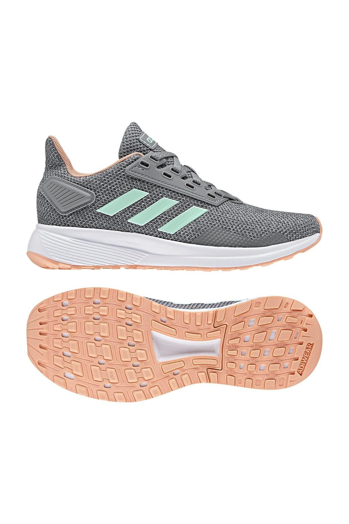 adidas Duramo 9 K Gri Koşu Ayakkabısı 100350569 1