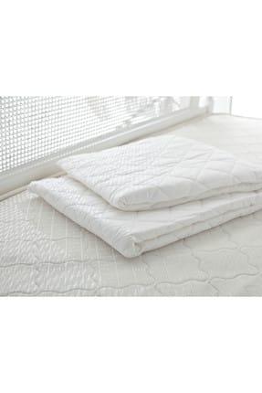 English Home Çift Kişilik Yatak Koruyucu 160X200 Cm Beyaz