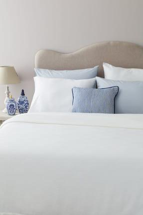 Madame Coco Mercredi Çift Kişilik Yatak Örtüsü - Beyaz