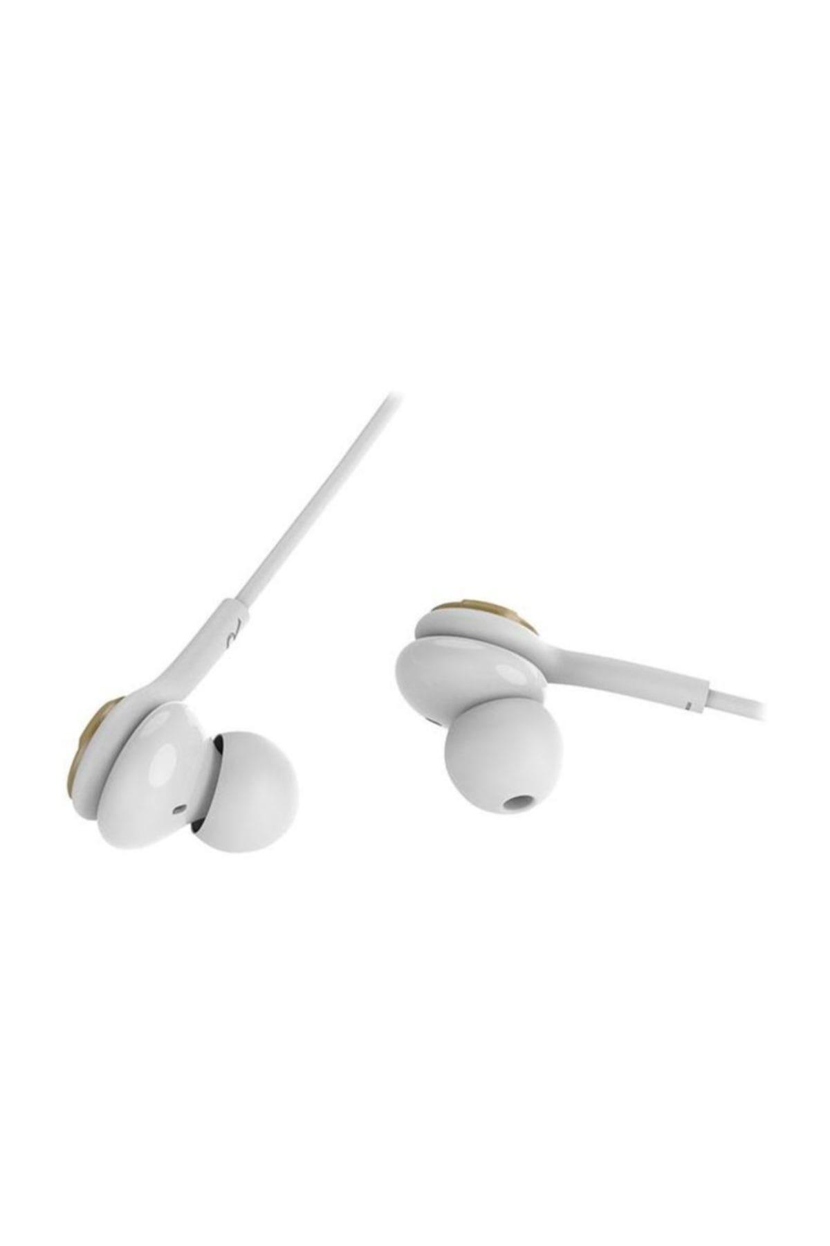 Snopy SN-X04 EPSİLON Mobil Telefon Uyumlu Beyaz/Gold Kulak İçi Mikrofonlu Kulaklık 2