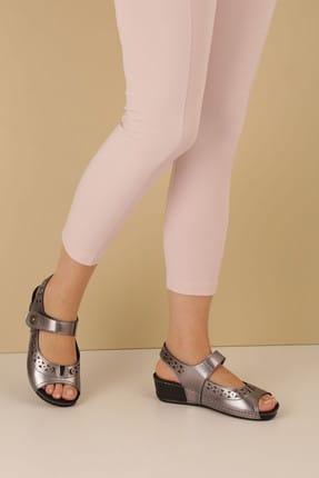 Muya Kurşun Kadın Sandalet 27127-3201-STAN
