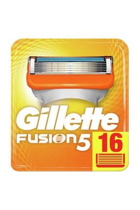 Gillette Fusion5 Manual Yedek 16'Lı Karton Ambalaj