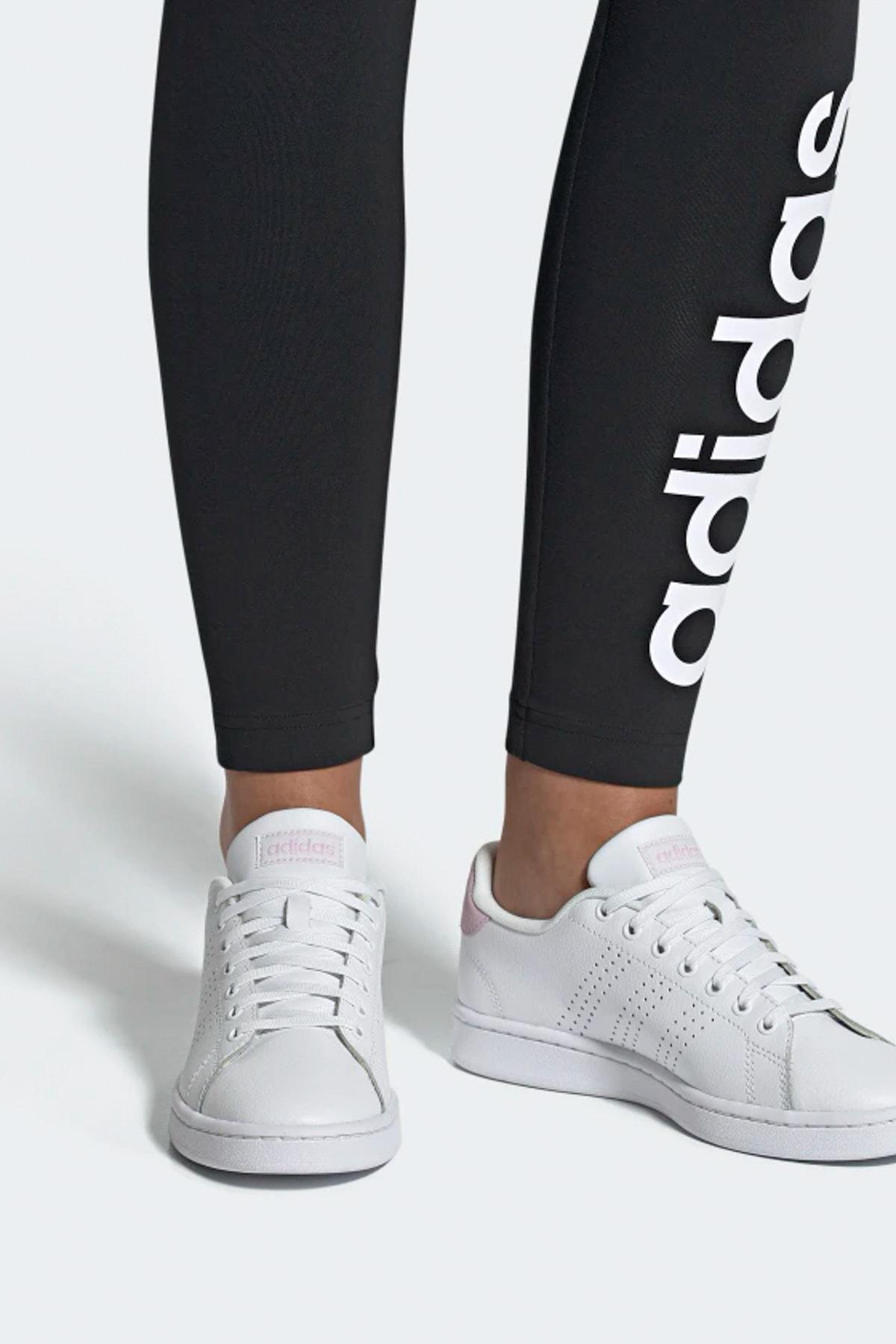 adidas ADVANTAGE Beyaz Kadın Sneaker Ayakkabı 100403642 2