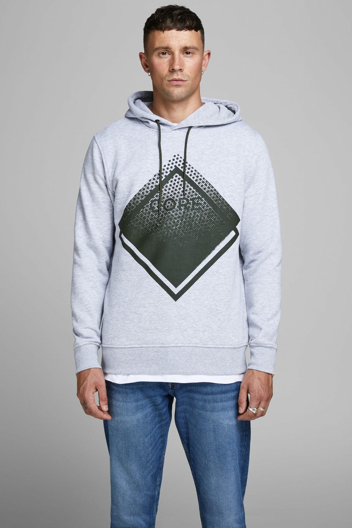 Jack & Jones Sweatshirt - Booster Core Sweat Hood 12165093 1