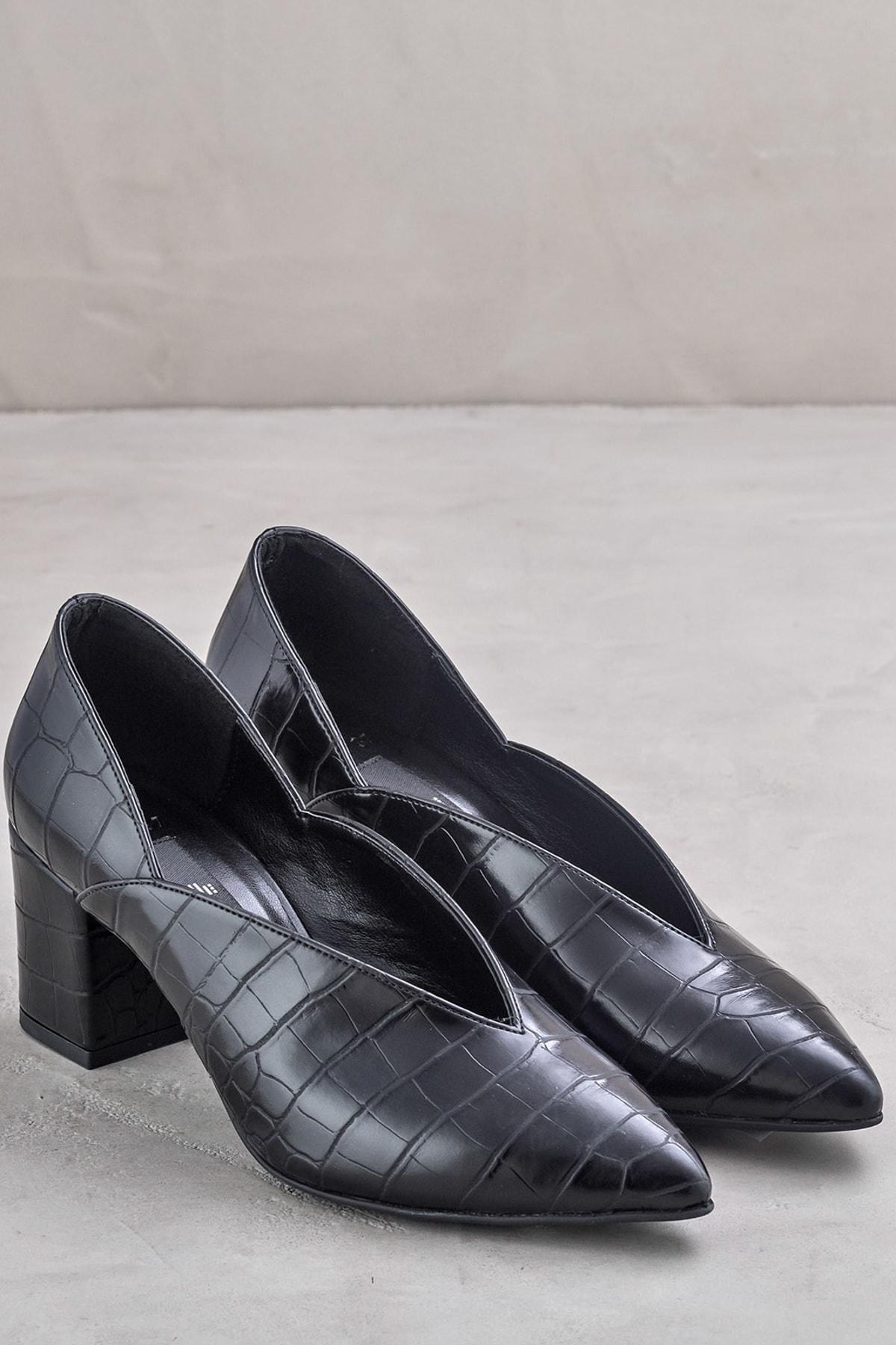 Elle Shoes ETSSUU Siyah Kadın Ayakkabı 2
