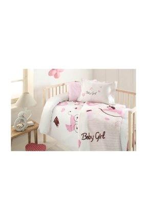 Özdilek Battaniyeli Bebek Nevresim Takımı Pembe Baby Girl