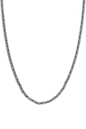 Glorria Gümüş Kral Zincir ES0093