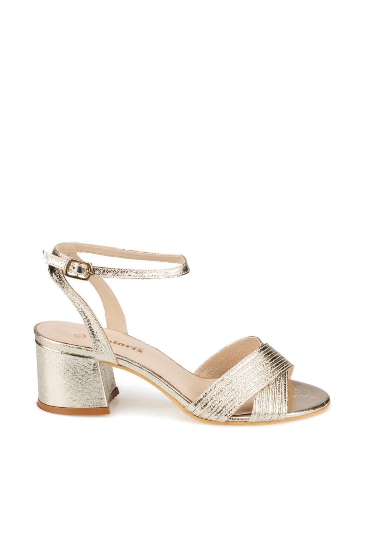 Polaris 91.313198.Z Altın Kadın Sandalet 100376315 2