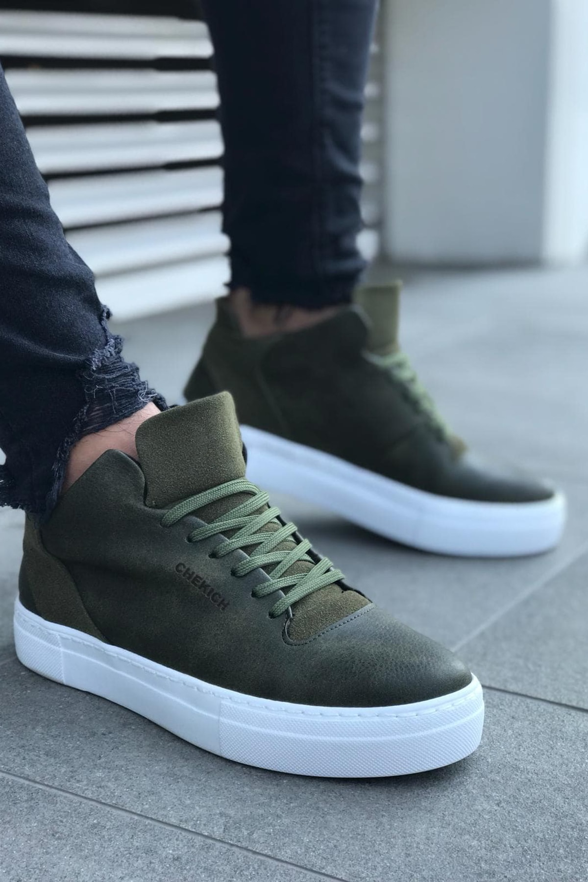 Chekich Haki Erkek Sneaker CH004 1