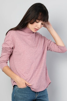 Colin's Pembe Kadın Tshirt U.kol CL1045478