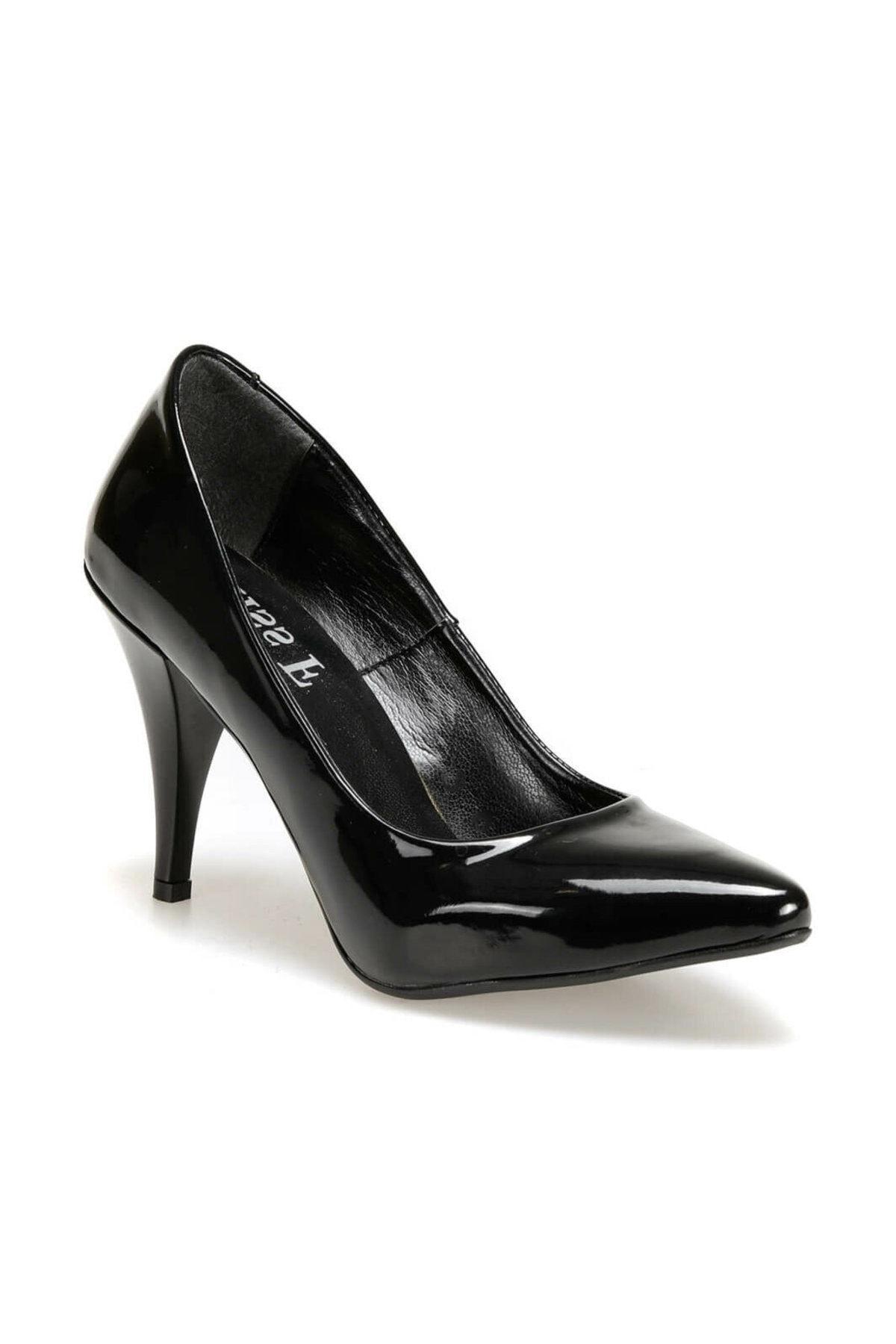 Miss F N16101-19K Siyah Kadın Stiletto 100441731 1
