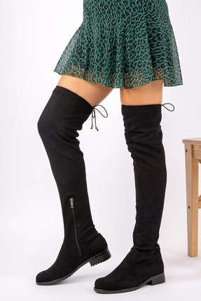 Fox Shoes Siyah Kadın Çizme G268573002