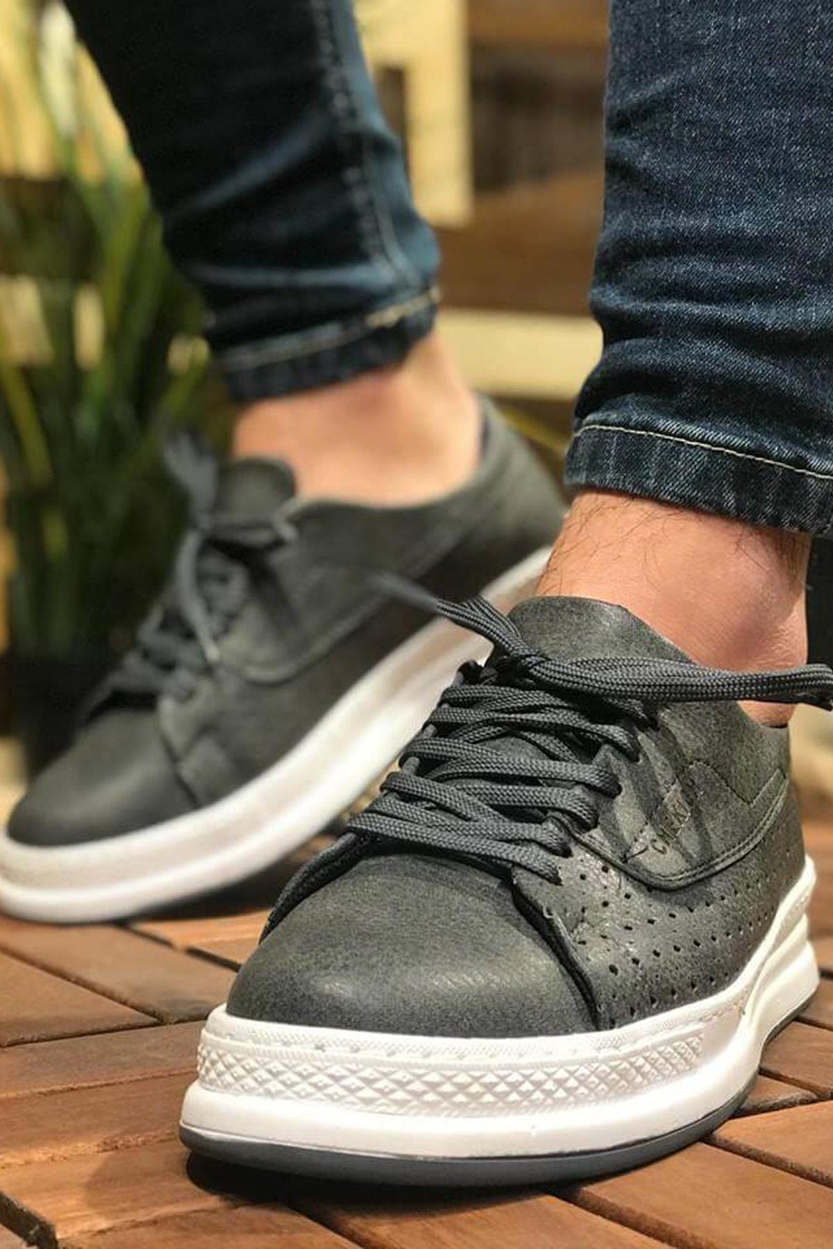 Chekich Antrasit Erkek Sneaker CH043 1
