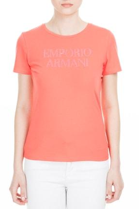 Emporio Armani Kırmızı Kadın T-Shirt S 3G2T86 2JQAZ 0240