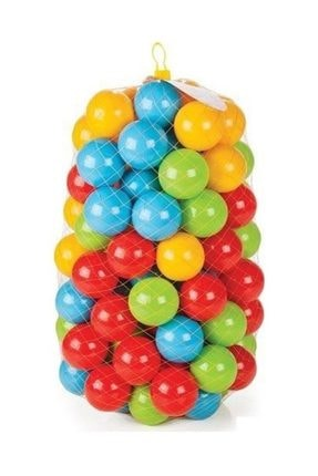 NORFOLK Oyun Havuz Topu Şişme Oyun Havuz Topları 9 Cm 100 Adet - Filede /