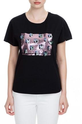 Emporio Armani Siyah Kadın T-Shirt 6G2T7X 2J7SZ 0999