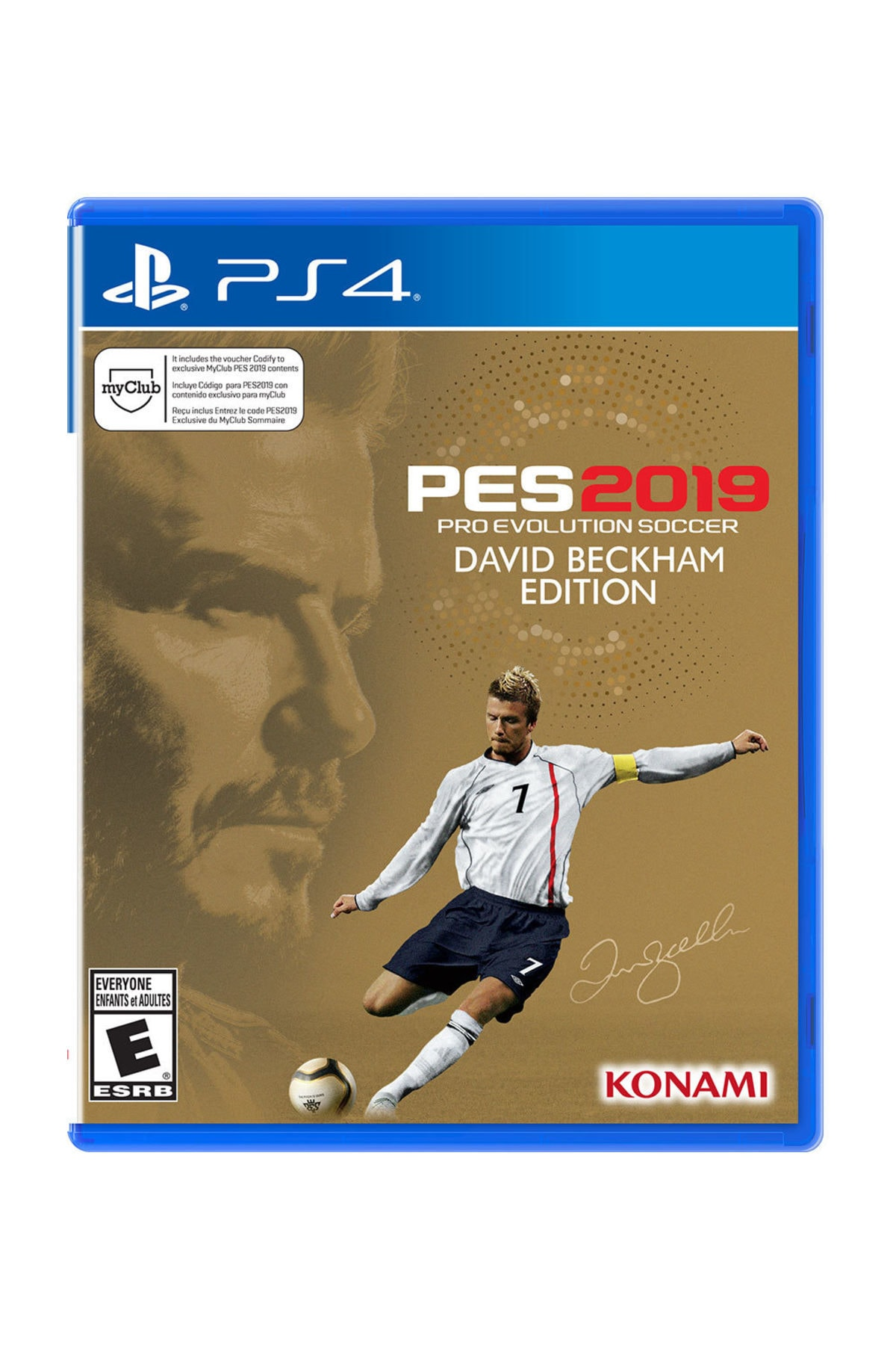 KONAMI Pes 2019 David Beckham Edition PS4 Oyun 1