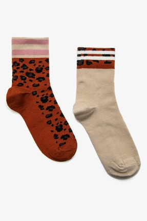 Koton Kadın Ekru 3'Lü Çorap 0KAK81219AA